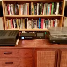 Parasound A23+ Power Amplifier & DSPeaker Dual Core 2.0 Preamplifier