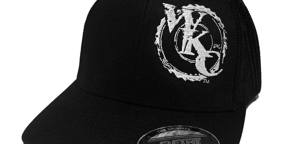 WKCInc Black Mesh Back Fitted Cap