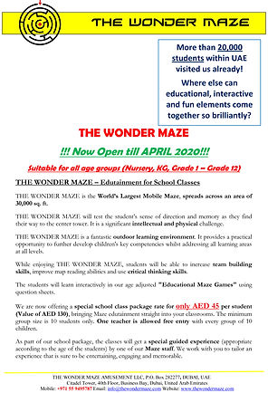 The Wonder Maze School Tour Package-1.jp