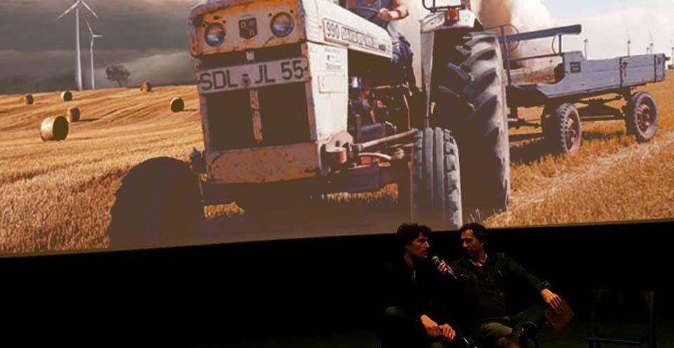 Marijn Poels tijdens Q&A (Foto: Cinesud)