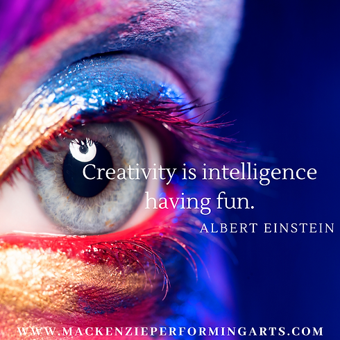 Creativity is intelligence having fun..p