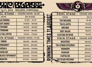 We're in Portugal for Sonicblast Moledo today!