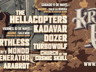 KRISTONFEST in Spain this coming May!