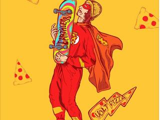 Fan art alert - Volt Rush pizza boy