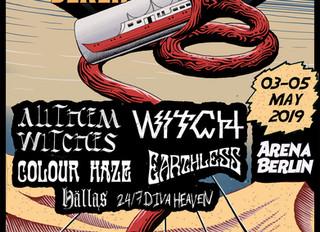 Desertfest Berlin + Sonic Whip Festival + Desertfest London this weekend