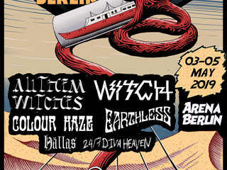 Desertfest Berlin + Sonic Whip Festival + Desertfest London this weekend