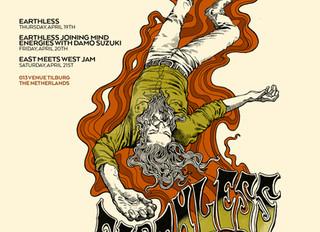 Earthless announced as Roadburn Festival 2018 Artist In Residence