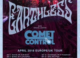UK/Europe tour kicks off next week!