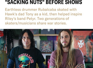 Check it out: Mario's interview with REVOLVER MAGAZINE and Riley Hawk