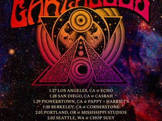 January/February Western US tour dates announced, on sale now!