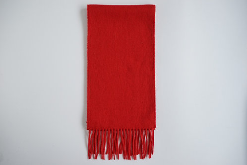 plain colour alpaca scarf