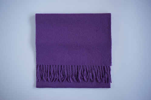 Plain colour scarf -100% Baby alpaca