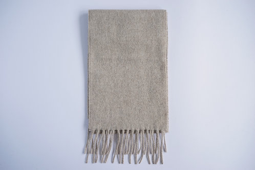 plain colour alpaca scarf