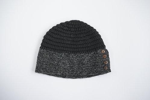 hand knitted 100% baby alpaca hat