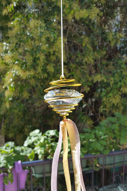 Gold Meditation Diamond Mobile