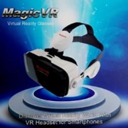 Casque de réalité virtuelle Magic VR (nécessite un smartphone)