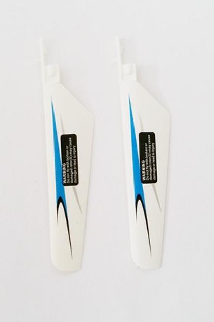 Pales bleues (x2) hélicoptère COPTER 911, Hélicoptere V911