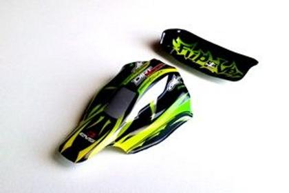 Carrosserie Verte et Noire VOITURE MAXI SPEED