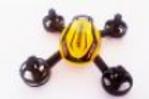 Carcassse jaune et noire  Mini Drone 6 axes