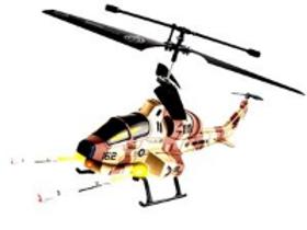 Hélicoptère de Combat Lance Missiles 3 voies