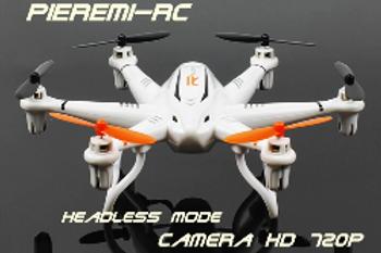 Hexacoptère 6 axes Caméra HD 720 p