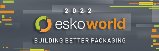 Event Logo + Materials Esko World 2022