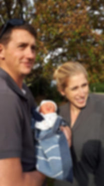 Kate, Paul & baby Isabelle