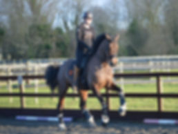 Olivia & Rocky training with Roland Tong
