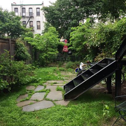 Prospect Heights Garden before