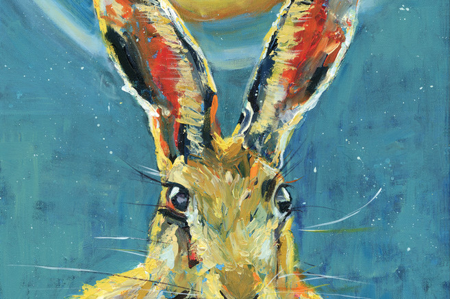 Hare Moon & Rings  No.3