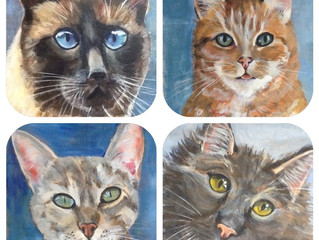 Tail of four kitties!
