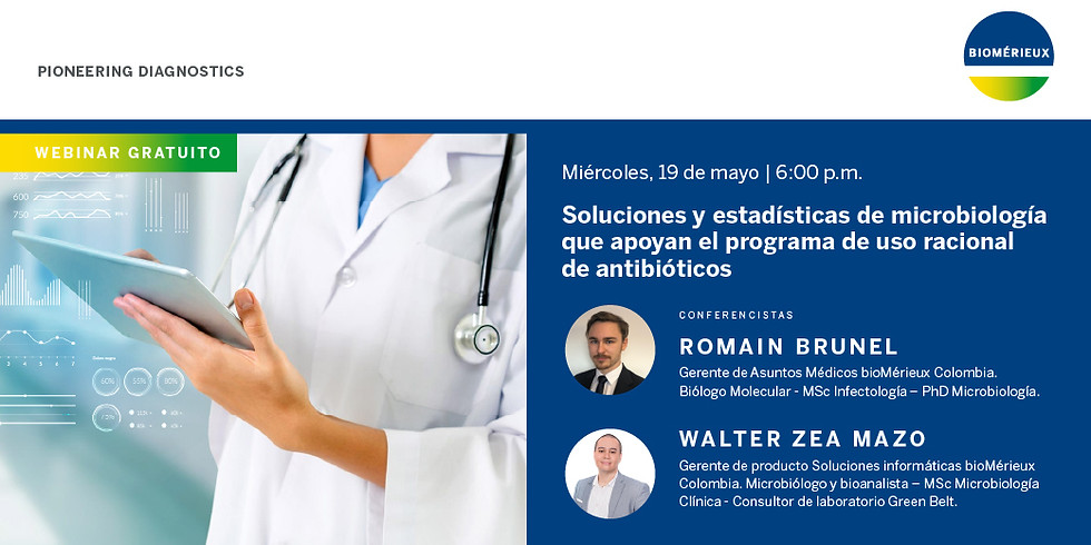 Soluciones y estadísticas de microbiología que apoyan el programa de uso racional de antibióticos