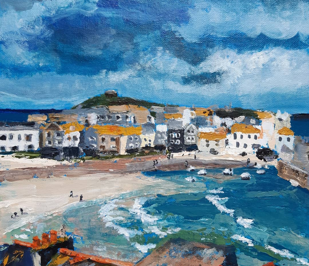 Storm over St. Ives