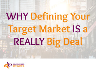 Why You Must Define Your Target Market