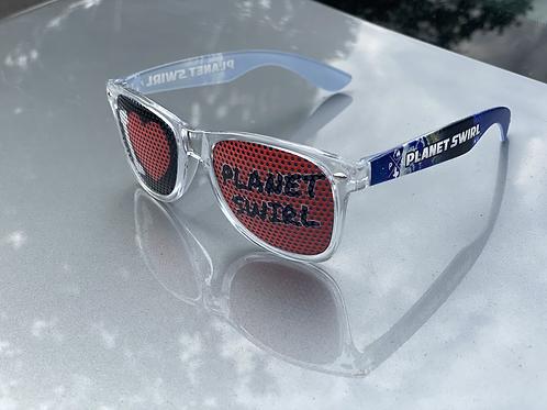 Planet Swirl Sunglasses Transparent