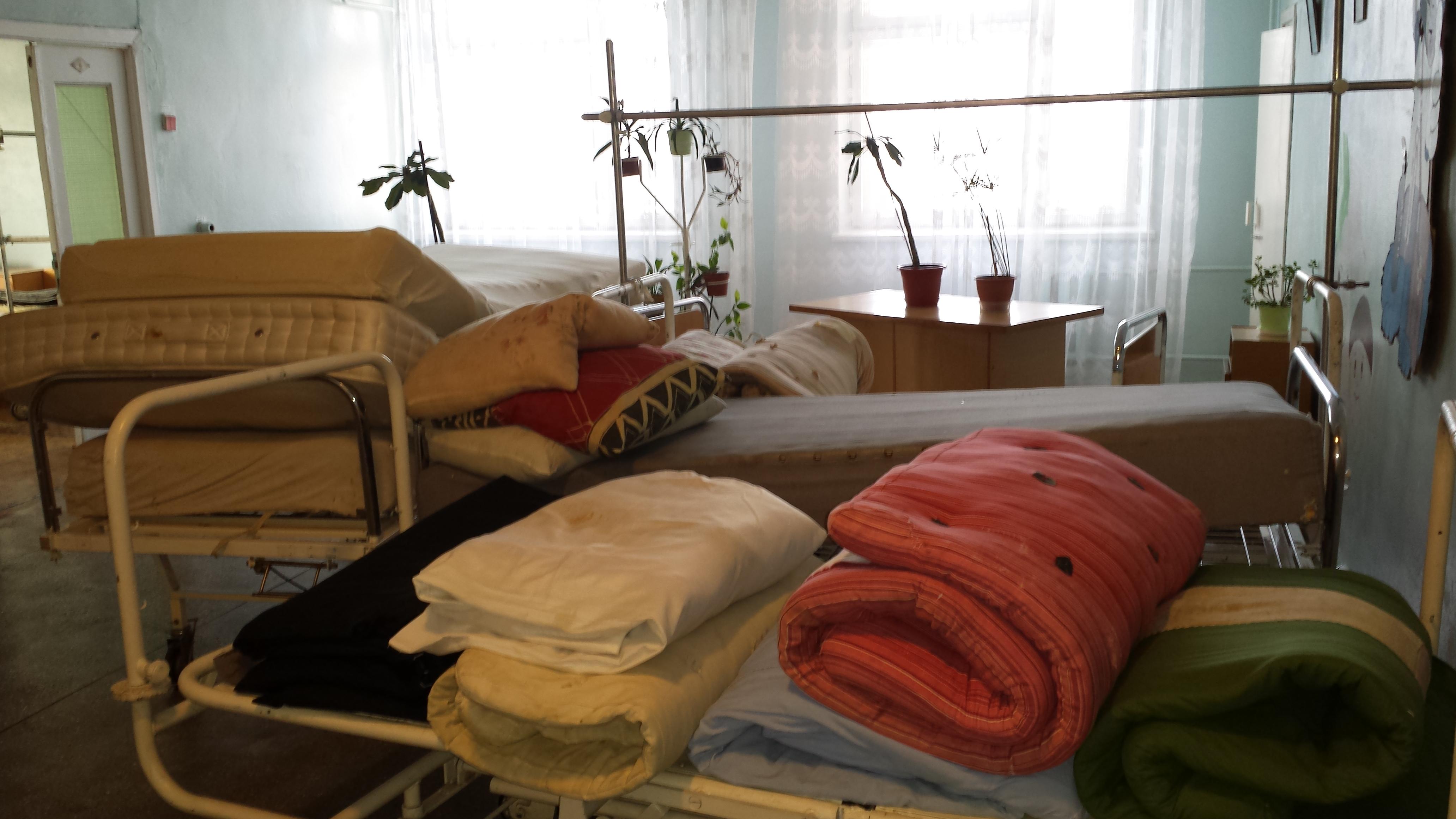 von W.Brügger fotografierte Betten