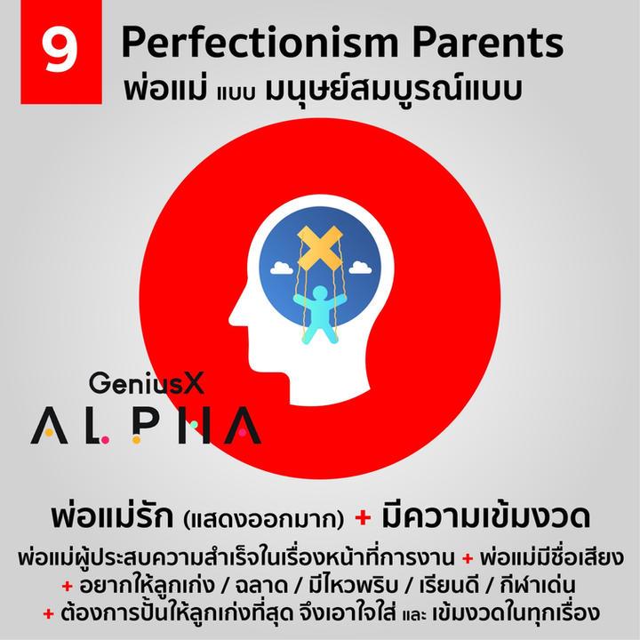 Perfectionism Parents