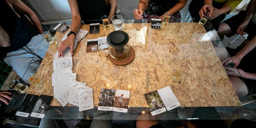 תה, קלפים, חברה וחיים אחרי השיעור - התרגול האמתי