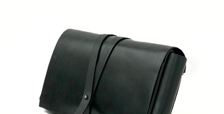 Сумка Crossbody в коплекте с двумя ремнями | черный