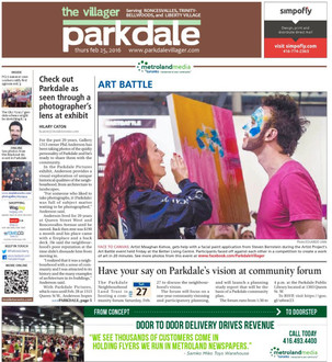 Art Battle Press - The Villager Parkdale