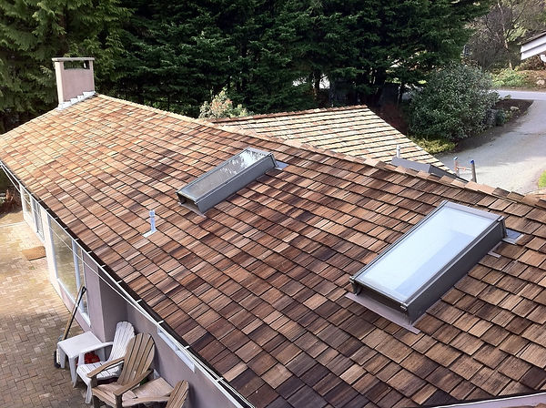 West Vancouver Roof Cleaning - After