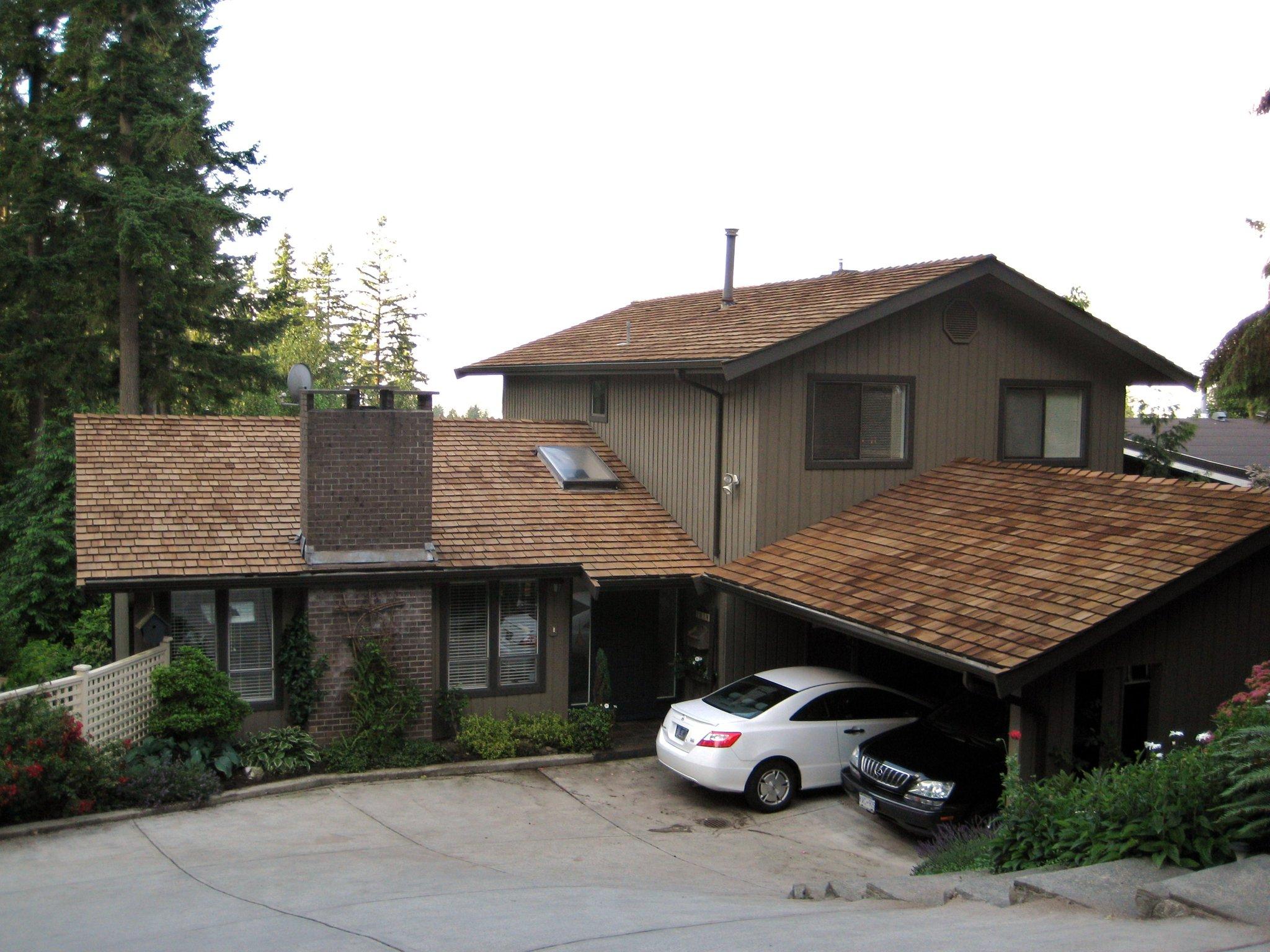 Vancouver Cedar Roof Restoration - After