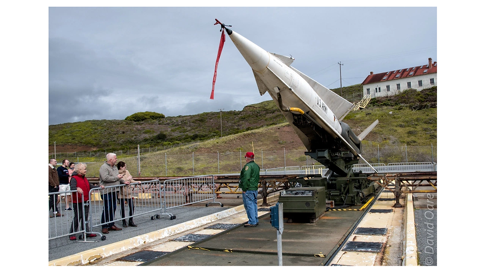 The missile launching pad at SF88.