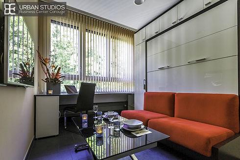 Equipement design canapé lit Ketiam et table multifonction Manhattan