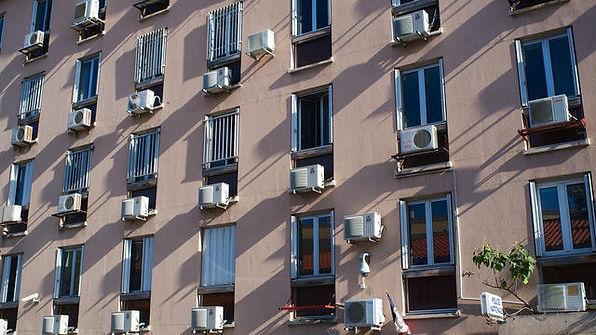 Climatisation façade