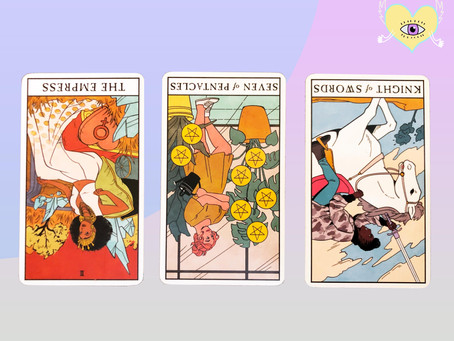 Uranus / Saturn Square - A Collective Tarot Reading with All Reversals?!