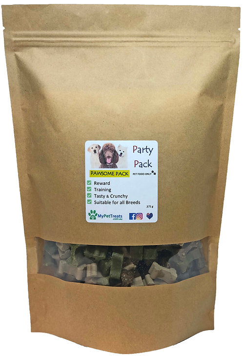 Party Pack 'Pawsome Value Pack' - (Training & Reward) Australian