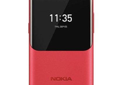 Nokia 2720 Flip Phone Red 4GB