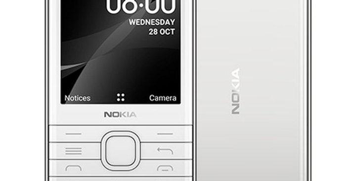 Nokia 8000 Dual SIM White 4GB