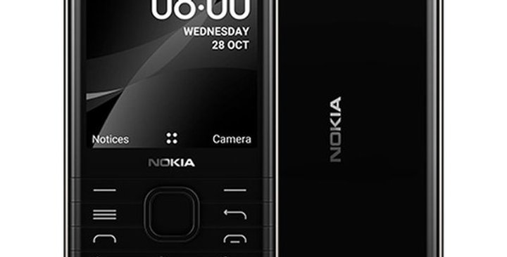 Nokia 8000 Dual SIM Black 4GB